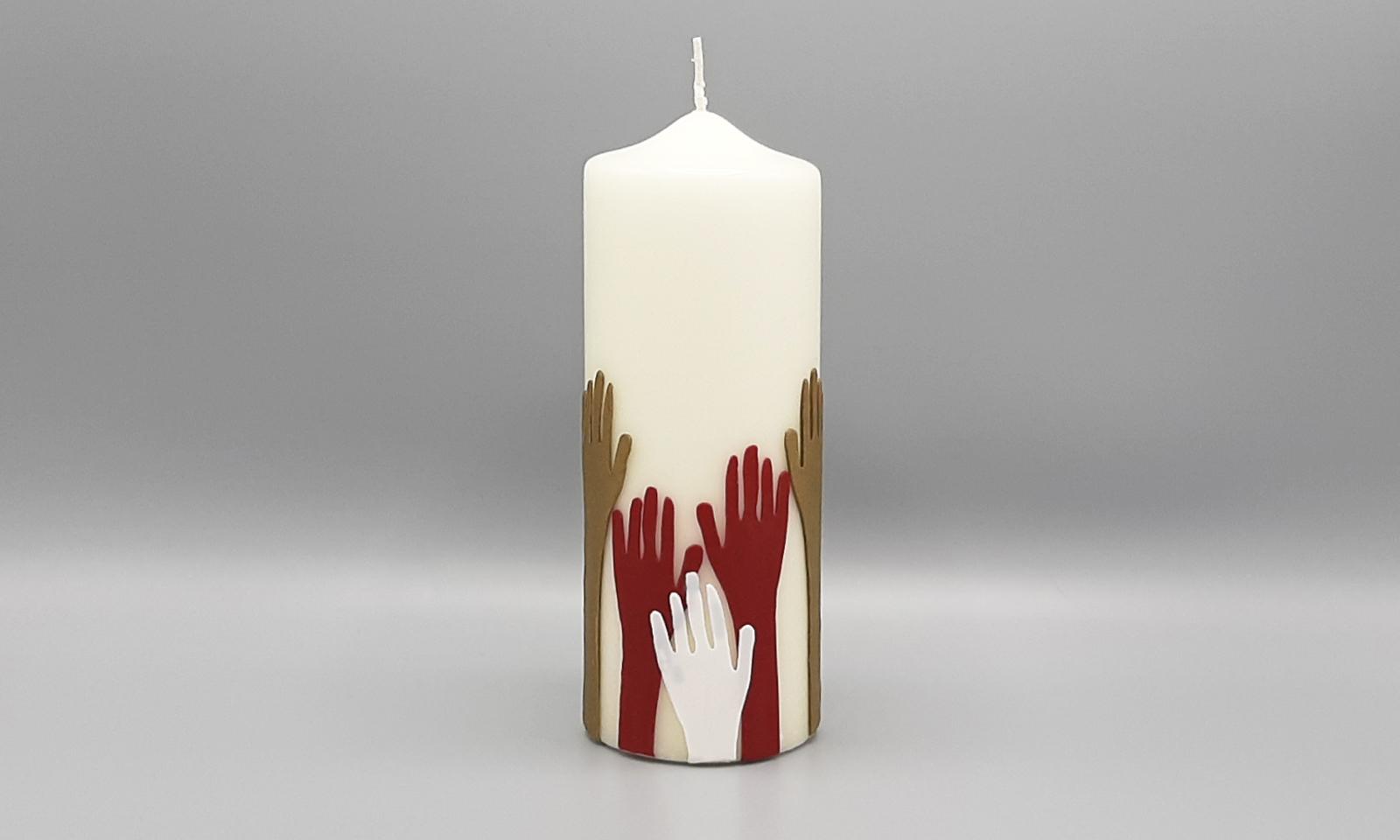 4 Kerzen Hände