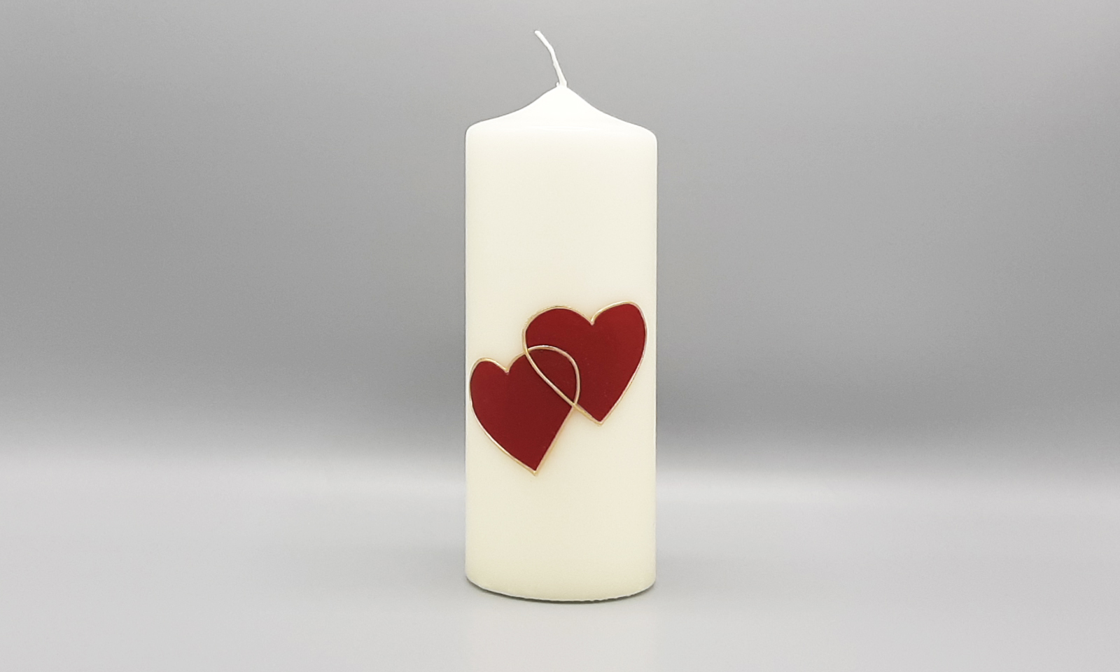 4 Kerzen Herz