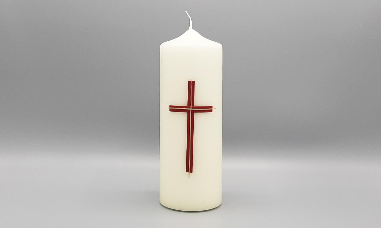 4 Kerzen Kreuz