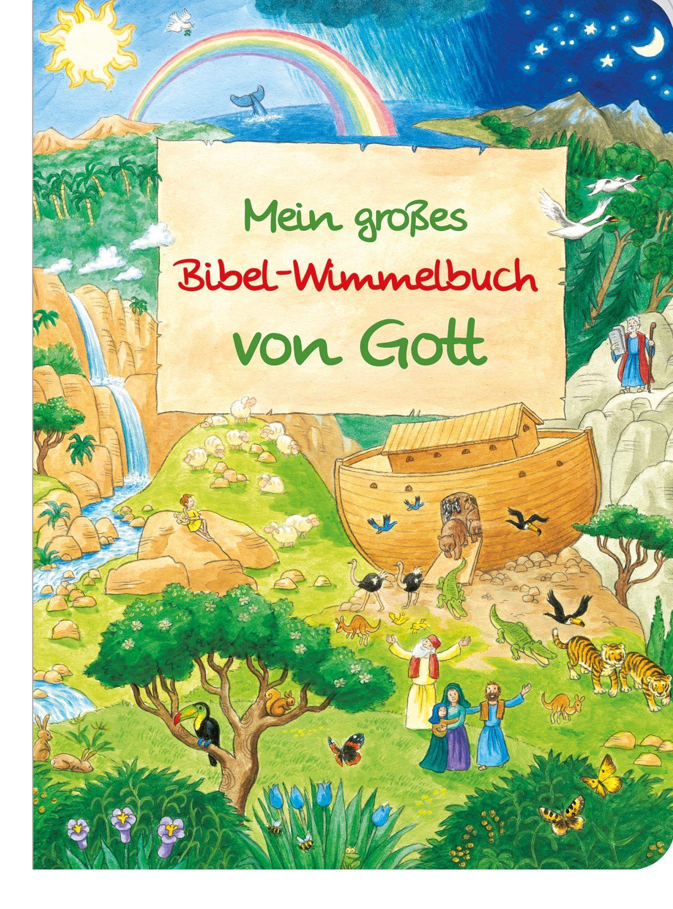 Bube Mein großes Bibel Wimmelbuch von Gott 300205