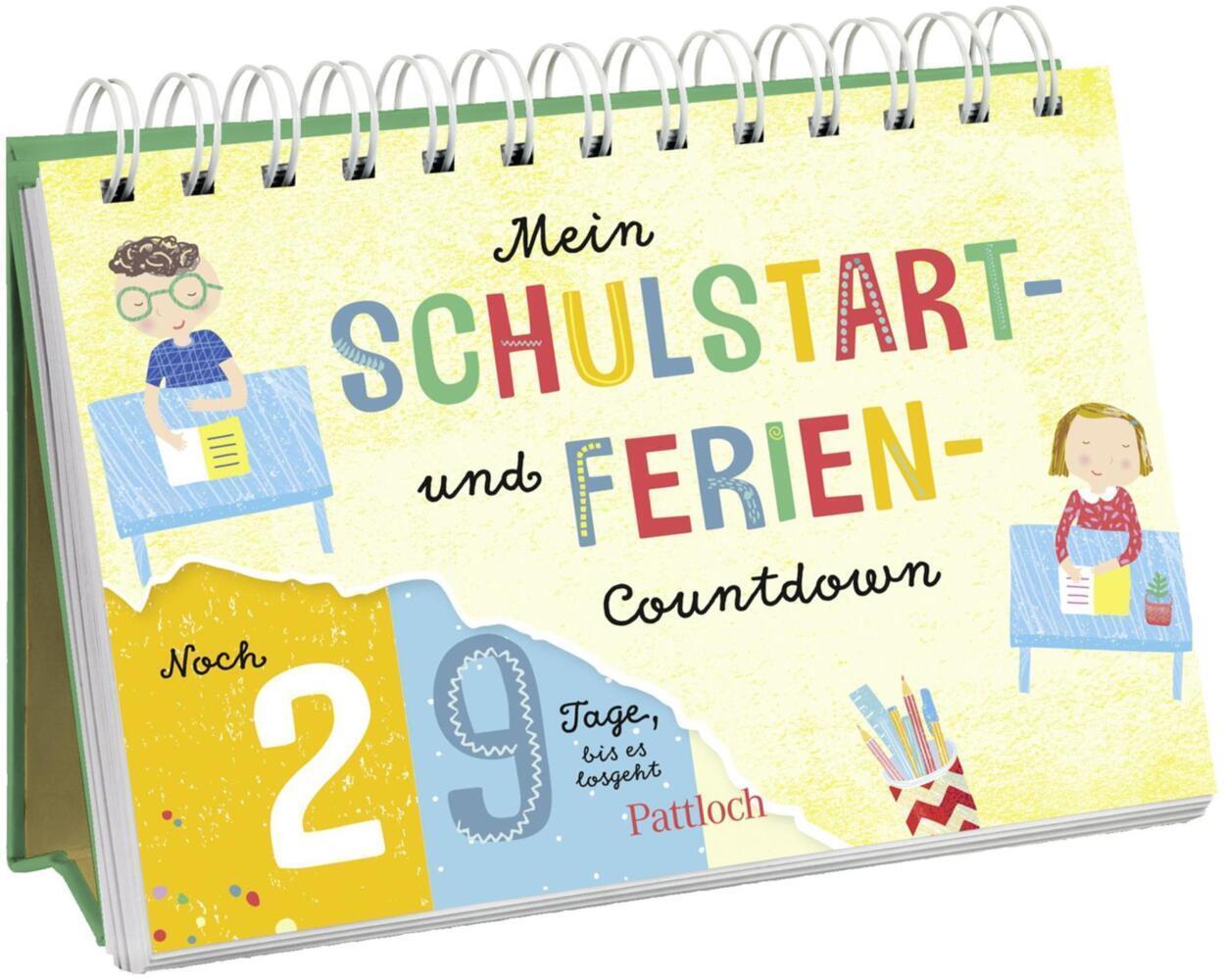 Mein Schulstart und Ferien Countdown 502014