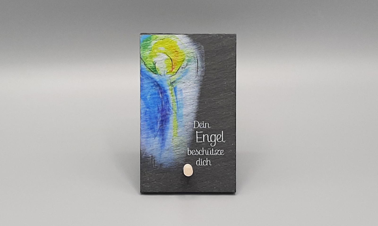 Schieferrelief Engel1