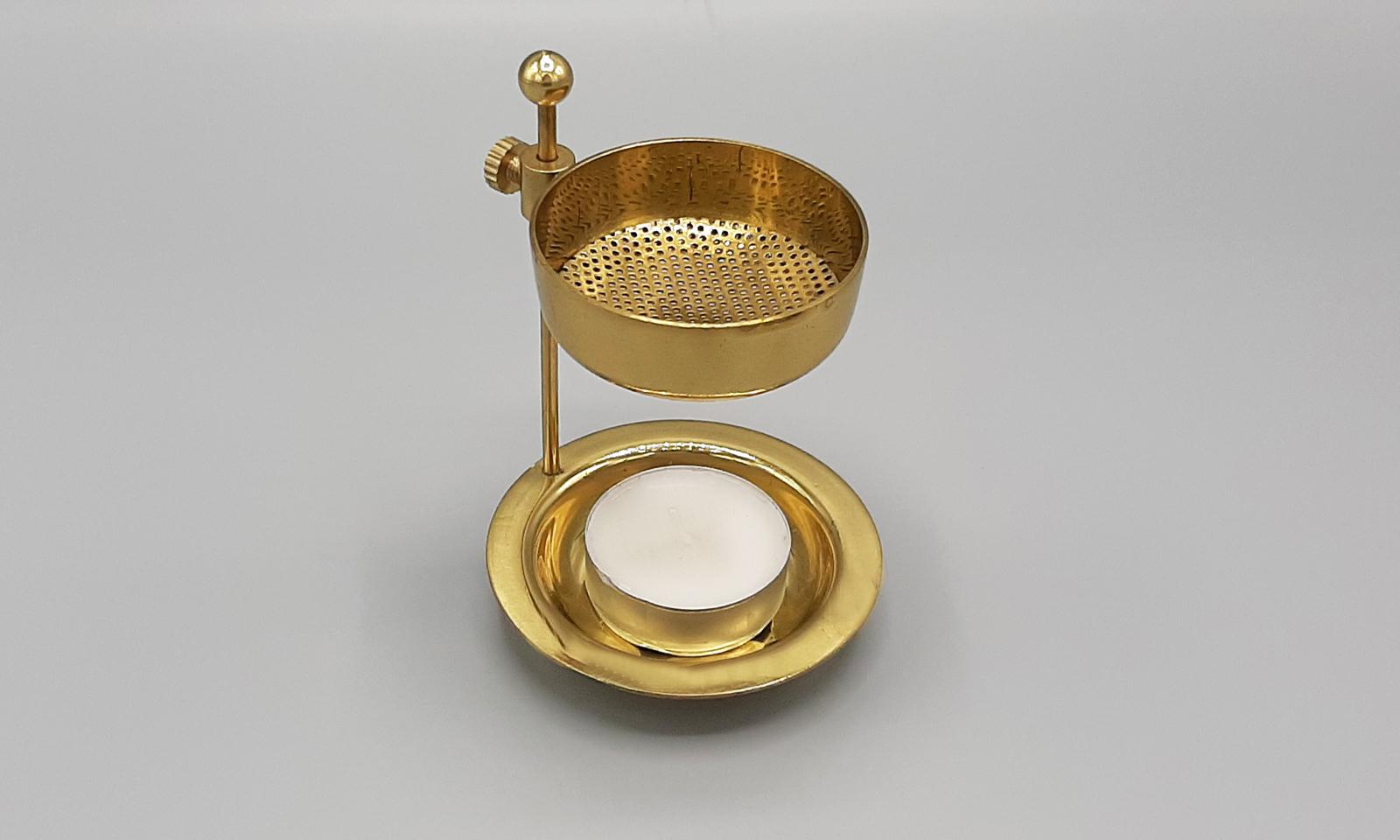 Weihrauchstövchen gold1